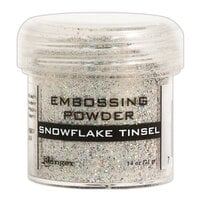 Ranger Ink - Specialty 1 Embossing Powder - Snowflake Tinsel