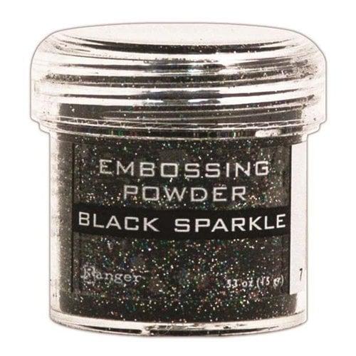 Ranger Ink - Specialty 1 Embossing Powder - Black Sparkle