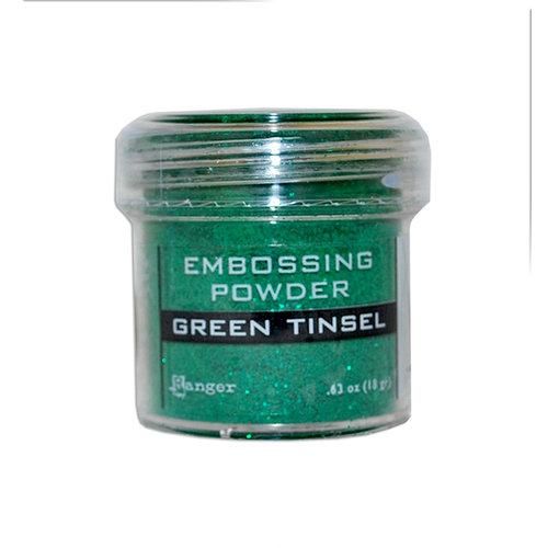 Ranger Ink - Specialty 1 Embossing Powder - Green Tinsel