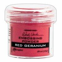 Ranger Ink - Wendy Vecchi - Embossing Powder - Red Geranium