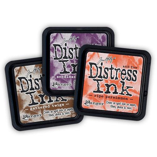 Ranger Ink - Tim Holtz - Distress Ink Pads - Fall - 3 Pack