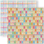 GCD Studios - Funhouse Collection - 12 x 12 Double Sided Paper - Test Your Luck