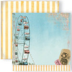 GCD Studios - Funhouse Collection - 12 x 12 Double Sided Paper - Coney Island