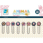 GCD Studios - Animal Crackers for Girls Collection - Glass Paper Clips