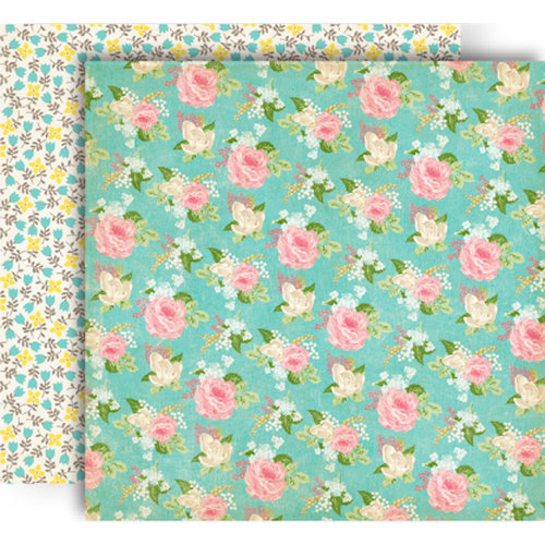 GCD Studios - Splendor Collection - 12 x 12 Double Sided Paper - Posies