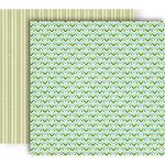 GCD Studios - Splendor Collection - 12 x 12 Double Sided Paper - Woven Chevron