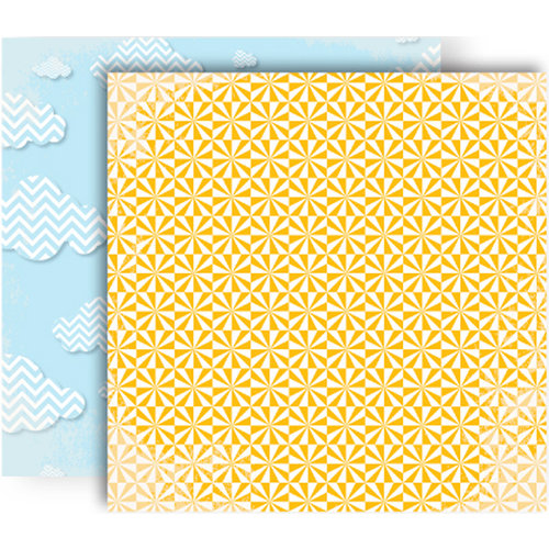 GCD Studios - Oh Happy Day Collection - 12 x 12 Double Sided Paper - Chloe