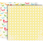 GCD Studios - Oh Happy Day Collection - 12 x 12 Double Sided Paper - Abbies Sunshine