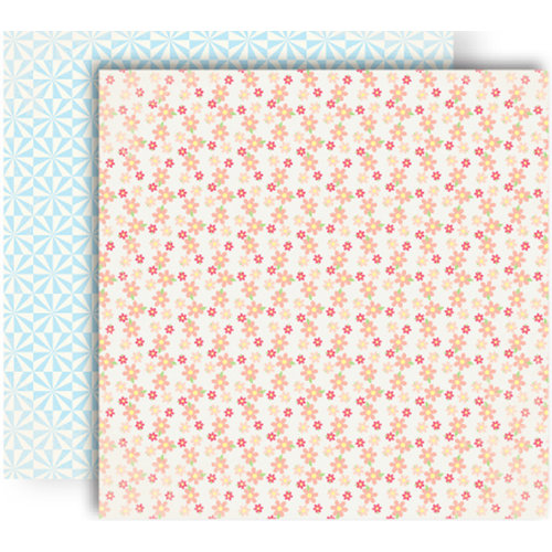 GCD Studios - Oh Happy Day Collection - 12 x 12 Double Sided Paper - Mariah