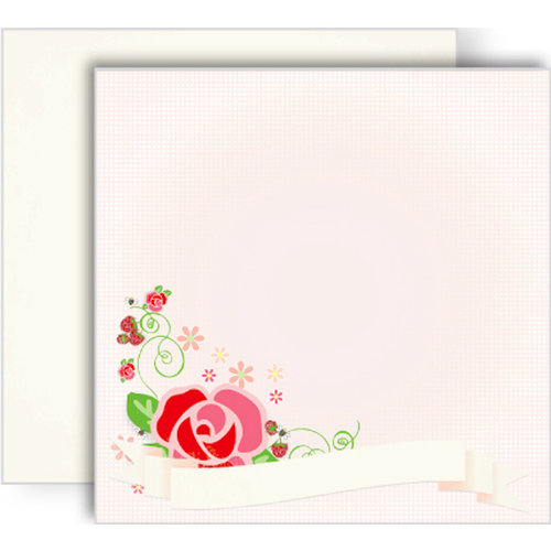 GCD Studios - Oh Happy Day Collection - 12 x 12 Double Sided Paper - Andrea