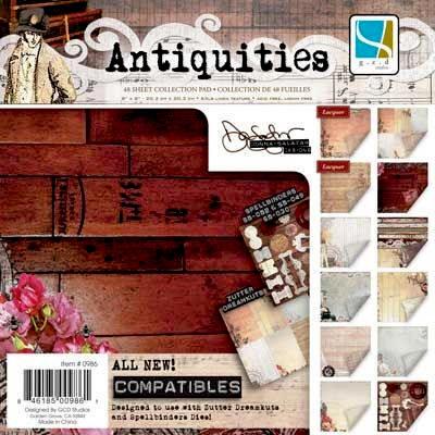 GCD Studios - Donna Salazar - Antiquities Collection - 12 x 12 Paper Pad