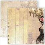 GCD Studios - Donna Salazar - Antiquities Collection - 12 x 12 Double Sided Paper - Theater