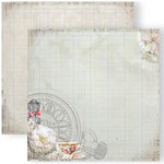 GCD Studios - Donna Salazar - Antiquities Collection - 12 x 12 Double Sided Paper - Time for Tea