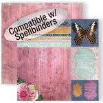 GCD Studios - Donna Salazar - Spring in Bloom Collection - 12 x 12 Double Sided Paper - One Sheet Wonderful