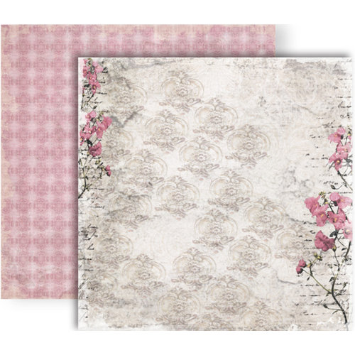 GCD Studios - Donna Salazar - Botanique Collection - 12 x 12 Double Sided Paper - Bliss