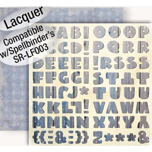 GCD Studios - Donna Salazar - Botanique Collection - 12 x 12 Double Sided Paper - Botanique Alphas