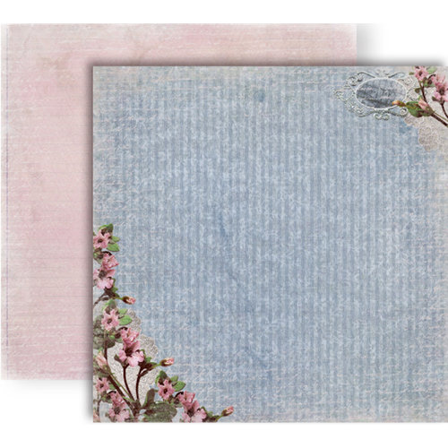 GCD Studios - Donna Salazar - Botanique Collection - 12 x 12 Double Sided Paper - Comfy