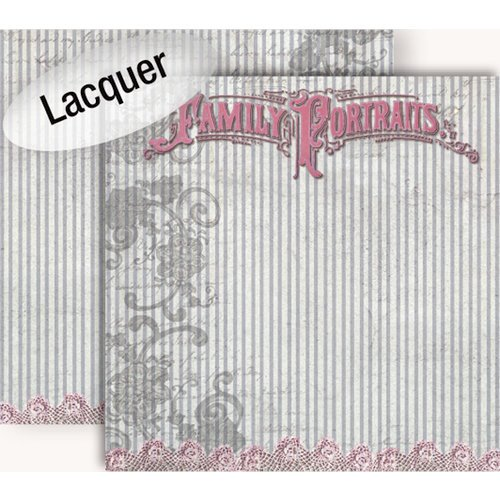 GCD Studios - Donna Salazar - Botanique Collection - 12 x 12 Double Sided Paper - Family Portraits