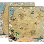 GCD Studios - Donna Salazar - Storybook Collection - 12 x 12 Double Sided Paper - Argh