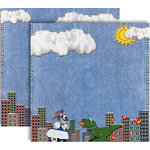 GCD Studios - Donna Salazar - Storybook Collection - 12 x 12 Double Sided Paper - Fido
