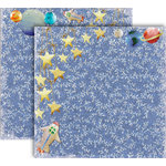 GCD Studios - Donna Salazar - Storybook Collection - 12 x 12 Double Sided Paper - Rocketship