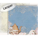 GCD Studios - Donna Salazar - Storybook Collection - 12 x 12 Double Sided Paper - Tea Time
