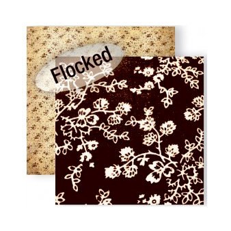 GCD Studios - Melody Ross - Soul Food Collection - 12 x 12 Double Sided Paper with Flocked Accents - Soul Vine