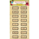 GCD Studios - Melody Ross - Soul Food Collection - Chipboard Stickers - Word Plaques