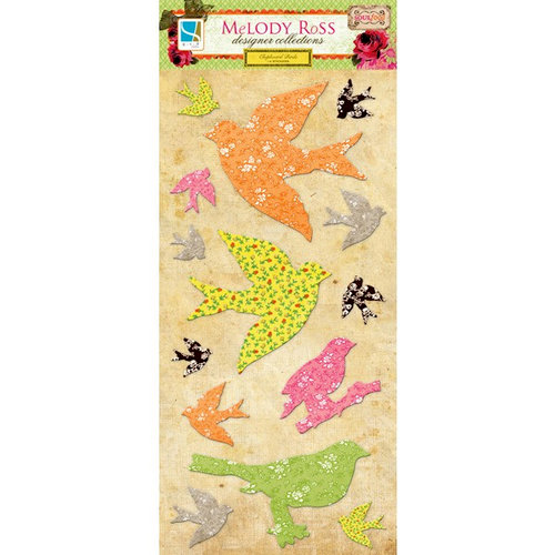 GCD Studios - Melody Ross - Soul Food Collection - Chipboard Stickers - Birds