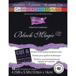 Core'dinations - Black Magic - 4.25 x 5.5 Color Core Cardstock Pack - Hocus Pocus