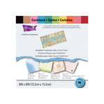 Core'dinations - The Whitewash Collection - 6 x 6 Color Core Cardstock Pack