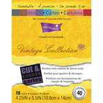Core'dinations - Vintage - 4.25 x 5.5 Color Core Cardstock Pack - Retro Mod Squad