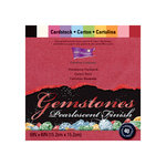 Core'dinations - Gemstones Collection - 6 x 6 Color Core Cardstock Pack