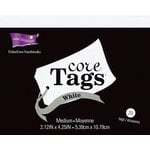 Core'dinations - Core Tags - Medium - Textured White
