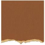 Core'dinations - Tim Holtz - Distress Collection - 12 x 12 Textured Cardstock - Tea Dye