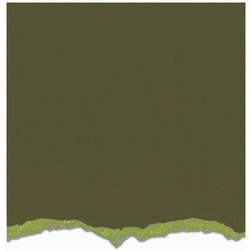 Core'dinations - Tim Holtz - Distress Collection - 12 x 12 Textured Cardstock - Forest Moss