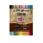 Core'dinations - Tim Holtz - Distress Collection - 4.25 x 5.5 Textured Color Core Cardstock Pack