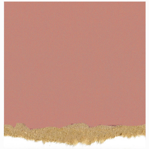 Core'dinations - Tim Holtz - Nostalgic Collection - 12 x 12 Textured Kraft Core Cardstock - Medium Pink