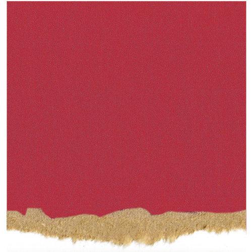 Core'dinations - Tim Holtz - Nostalgic Collection - 12 x 12 Textured Kraft Core Cardstock - Magenta
