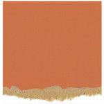 Core'dinations - Tim Holtz - Nostalgic Collection - 12 x 12 Textured Kraft Core Cardstock - Pumpkin