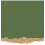 Core'dinations - Tim Holtz - Nostalgic Collection - 12 x 12 Textured Kraft Core Cardstock - Evergreen