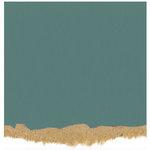 Core'dinations - Tim Holtz - Nostalgic Collection - 12 x 12 Textured Kraft Core Cardstock - Vivid Blue