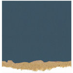 Core'dinations - Tim Holtz - Nostalgic Collection - 12 x 12 Textured Kraft Core Cardstock - Deep Blue