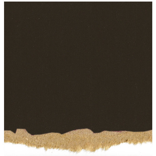 Core'dinations - Tim Holtz - Nostalgic Collection - 12 x 12 Textured Kraft Core Cardstock - Black