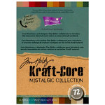 Core'dinations - Tim Holtz - Nostalgic Collection - A4 Textured Kraft Core Cardstock Pack