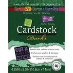 Core'dinations - Darks - 4.25 x 5.5 Textured Color Core Cardstock Pack