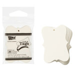 Core'dinations - Core Tags - Fashion - Small - Ivory