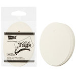 Core'dinations - Core Tags - Large - Oval - Ivory