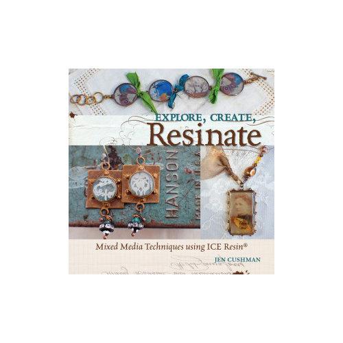Art Mechanique - Ice Resin Idea Book - Mixed Media Techniques Using Ice - Explore, Create, Resinate