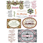 JustRite - Clear Acrylic Stamps - Special Gifts Labels Twenty-Nine